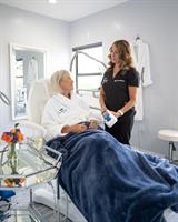 Guests feel pampered during CoolSculpting treatments.
