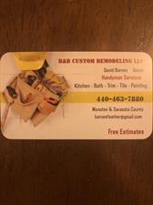 B & B Custom Remodeling LLC