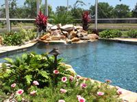 Swimming Pool & Waterfall
