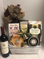 Woodland Wine basket