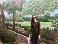Healing in the Enchanted Garden Mural on Green Parrot Building