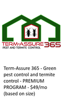 Term-Assure 365 - green pest control + termite protection