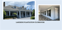 Exterior Painting of the Lakeside Plantation Community Center.