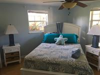 Bedroom painted in Sherwin Williams: Little Boy Blu.SW9054