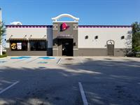 The new look for the Taco Bell on the Bypass in Venice.