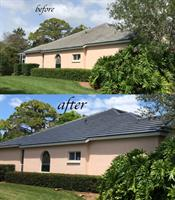 Beautiful new look for this repainted tile roof.