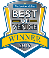 "Voted ""Best Water Treatment"" by the readers of the Venice Gondolier"