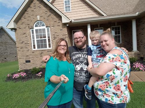 This family are good friends of mine and I was so honored to help them put their VA loan to good use and buy a beautiful home.