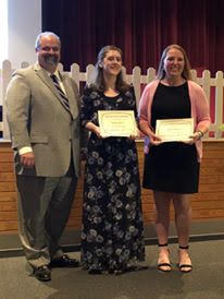 Each year Portland Rotary Club gives 2 $500 Scholarships to Portland High School Students