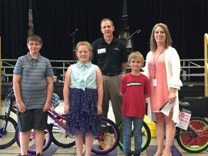Wheels in Motion Bike Program provides bicycles to local students