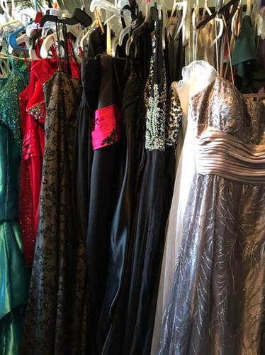 Our prom event ensures that no student misses out on prom - free dresses, shoes, jewelry
