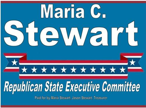 Maria C. Stewart, Republican State Executive Committee