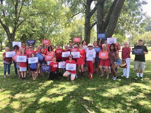 Sumner Moms Demand Recess Rally