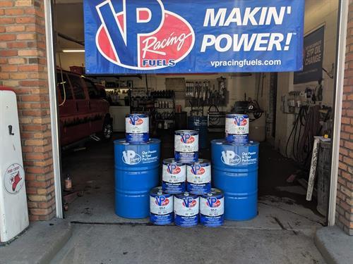 Makin Power.  VP Race Fuels.