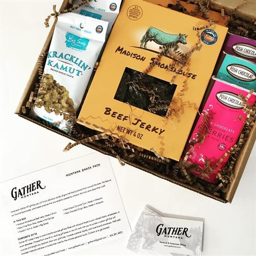 Gather MT's custom gift boxes can fit any budget and style.