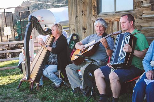 Celtic Musicians & Story Telling
