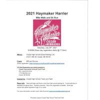 2021 Haymaker Harrier Mile Walk & 5K Run