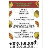 Hamburger & Hot Dog Feed