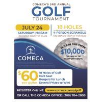 2021 3rd Annual Comeca Gold Tournament