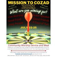 Mission to Cozad