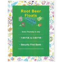 Security First Root Beer Float Thursday