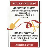 Groundbreaking & Ribbon Cutting Event