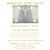 Robert Henri's years on the Great Plains