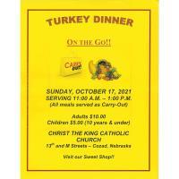 Turkey Dinner @ Christ The King Catholic Church