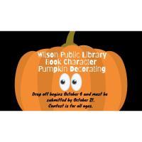 Wilson Public Library Book Character Pumpkin Decorating