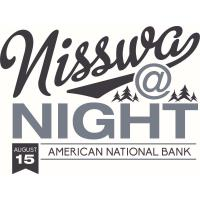 Nisswa at Night - American National Bank