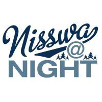 Nisswa At Night - The School House