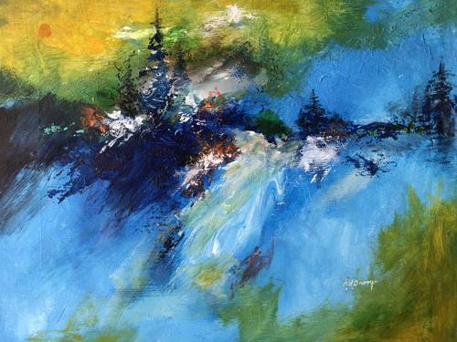 Bill Grange- Watercolors, Acrylics, Pottery