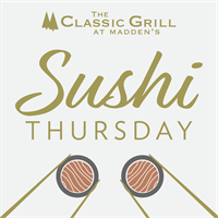 Sushi Thursday at The Classic Grill