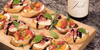 Build Your Own Bruschetta at The Woods