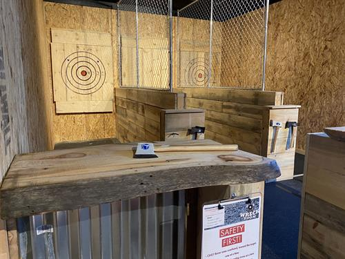 Wreck Room Axe Throwing