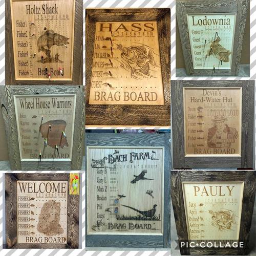 Custom Brag Boards