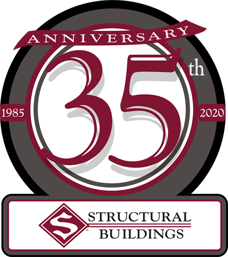 Logo representing our 35th year of business in 2020