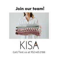 Love customer service & cool products? Work at KISA this summer!