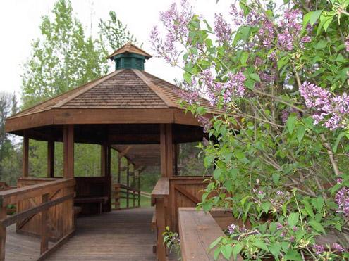 Gazebo Garden near the Monet Bridge