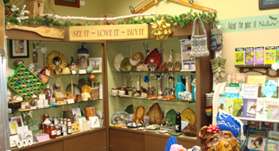 The Visitor Center Gift Shop.