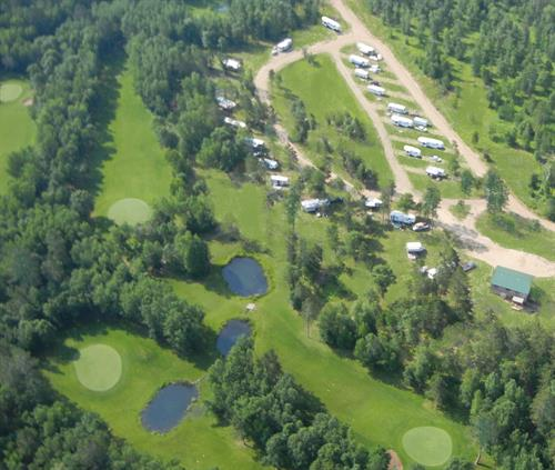 RV Park on Golf Course