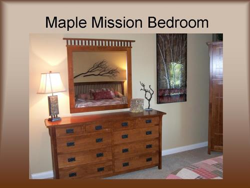 Maple Mission Bedroom - Early American Finish #20210-SS