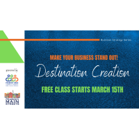 Business Strategy Series: Destination Creation