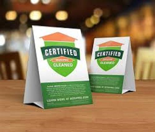 SERVPRO Certified Cleaning Program!