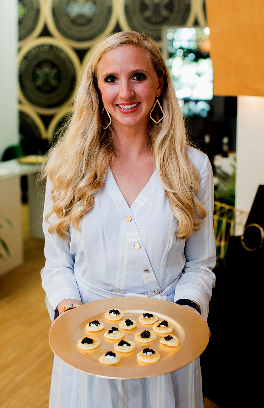 NEW BUSINESS IN TOWN!  Petra Bergstein, President and Co-Founder of The Caviar Co.