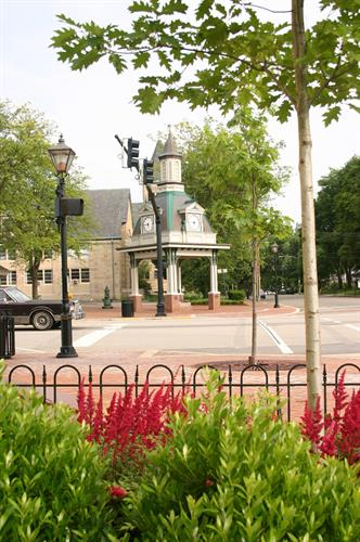 Streetscape/Clock Tower - New Construction