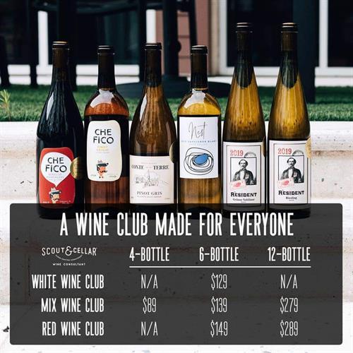 Scout Circle Wine Club