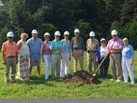 Breaking Ground on new cottages