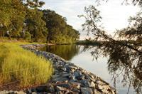 Unity takes pride in its shoreline restoration work.