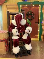 Santa and Polly Parrot!